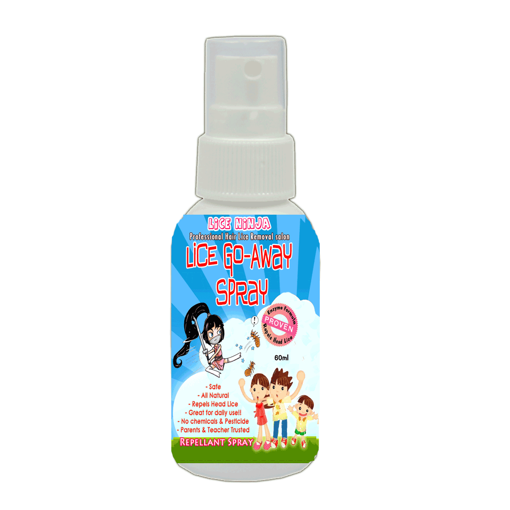 Lice Go-Away Spray-lice repellent, lice repel, repel spray, lice free
